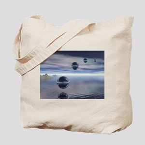 Visitors From Space Tote Bag