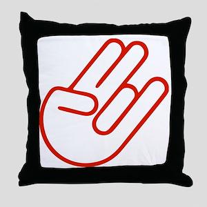 SHOCKERHAND ROT Throw Pillow