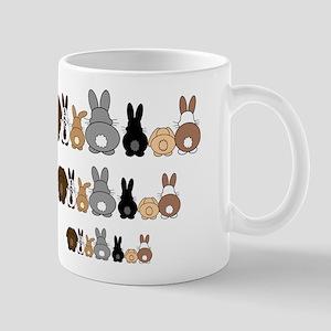 Receding Hare Line Mug