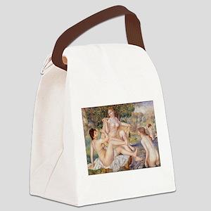 Renoir Les Grandes Baigneuses Canvas Lunch Bag