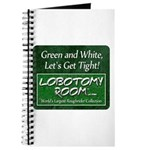 Green and White Journal