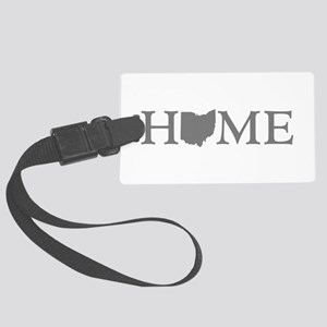 Ohio Home Large Luggage Tag