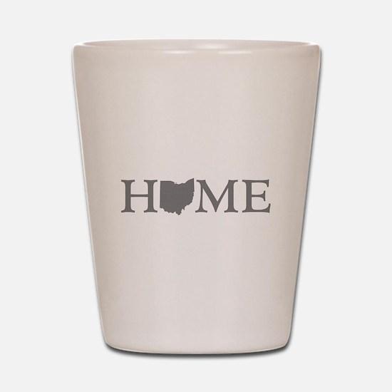 Ohio Home Shot Glass
