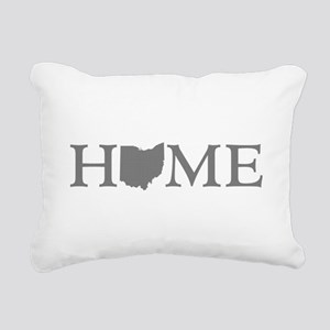 Ohio Home Rectangular Canvas Pillow