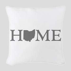 Ohio Home Woven Throw Pillow