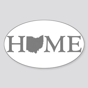 Ohio Home Sticker (Oval)
