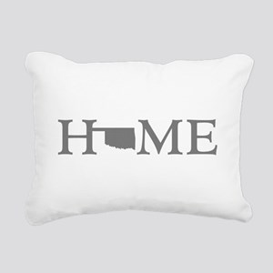 Oklahoma Home Rectangular Canvas Pillow