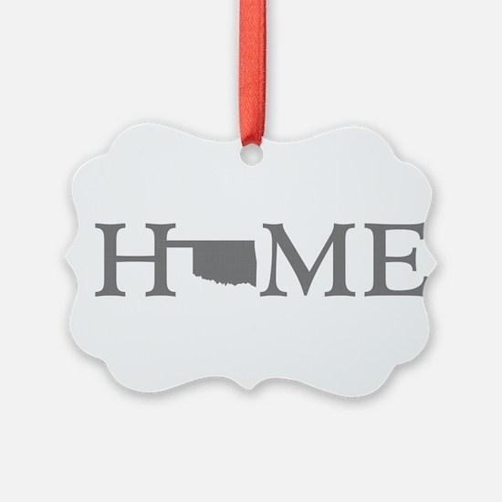 Oklahoma Home Ornament