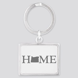 Oregon Home Landscape Keychain