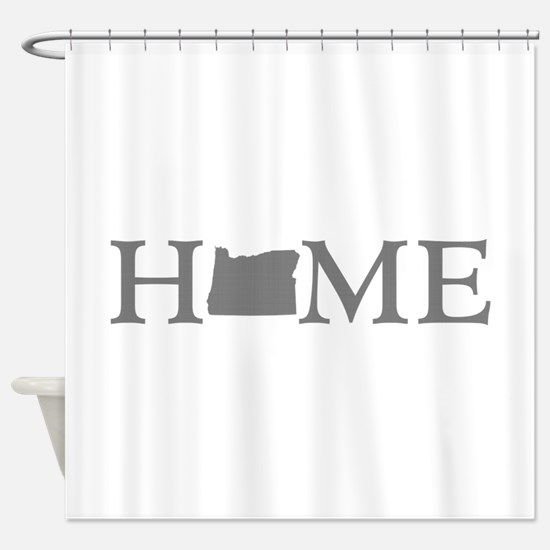 Oregon Home Shower Curtain
