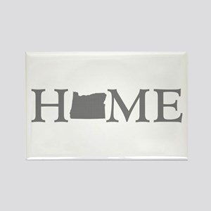 Oregon Home Rectangle Magnet
