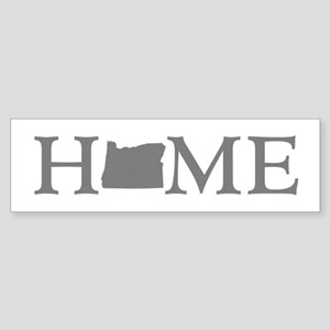 Oregon Home Sticker (Bumper)