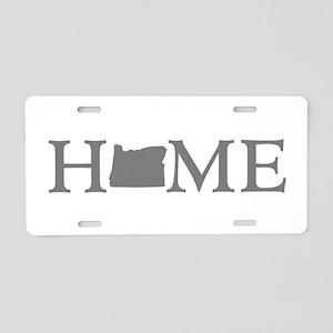 Oregon Home Aluminum License Plate