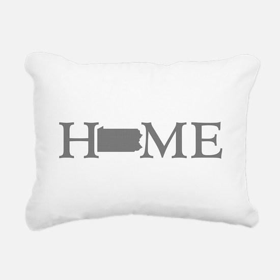 Pennsylvania Rectangular Canvas Pillow