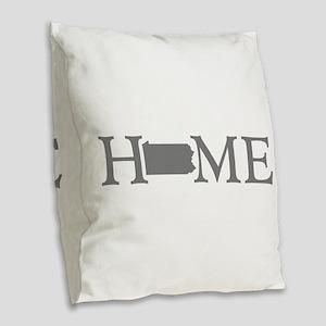 Pennsylvania Burlap Throw Pillow