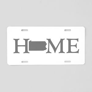 Pennsylvania Aluminum License Plate