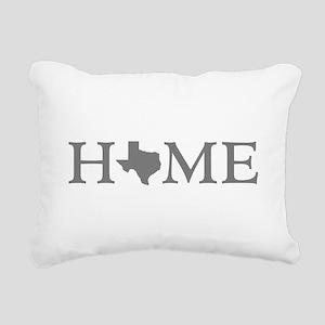 Texas Home Rectangular Canvas Pillow