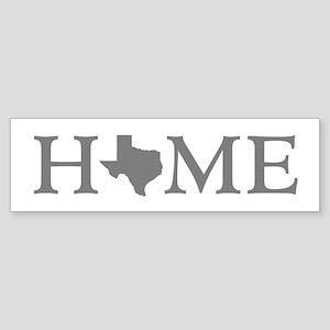 Texas Home Sticker (Bumper)
