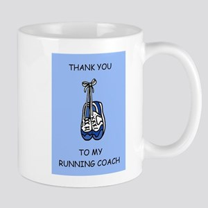 Running Coach Thanks, blue. Mugs