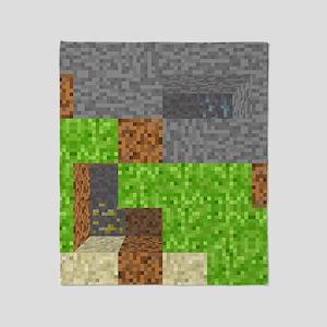 Pixel Art Play Mat Throw Blanket