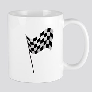 Racing Checkered Flag Mugs