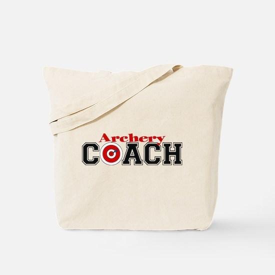 Archery Coach Tote Bag