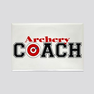Archery Coach Rectangle Magnet