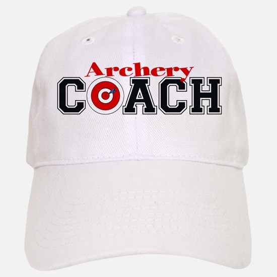 Archery Coach Baseball Baseball Cap