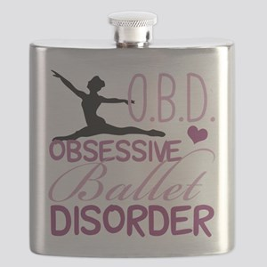 Ballet Obsessed Flask