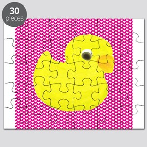 Rubber Duck on Hearts Puzzle