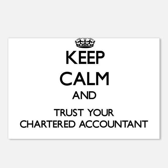 Keep Calm and Trust Your Chartered Accountant Post