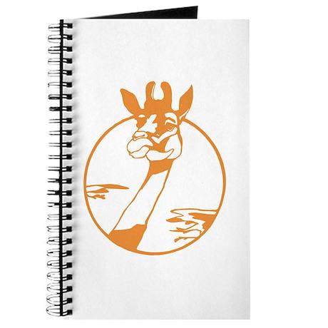 Giraffe Circle Design Journal