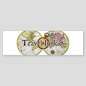 FrontTshirtLogoJunkie Bumper Sticker