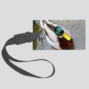 Duck Large Luggage Tag
