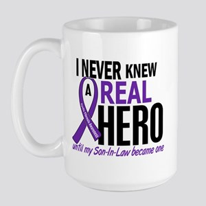 Cystic Fibrosis Real Hero 2 Large Mug