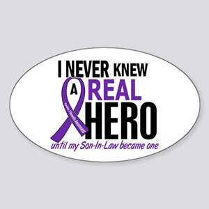 Cystic Fibrosis Real Hero 2 Sticker (Oval)
