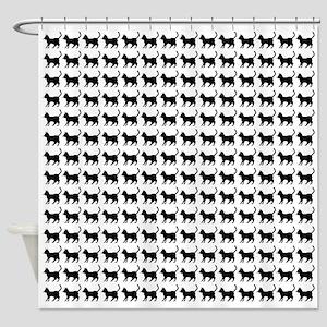 Cat Icon (SC) Shower Curtain