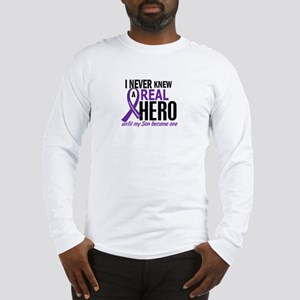 Cystic Fibrosis Real Hero 2 Long Sleeve T-Shirt