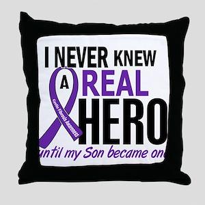 Cystic Fibrosis Real Hero 2 Throw Pillow