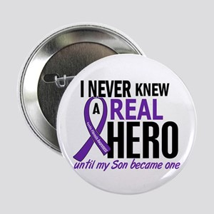 """Cystic Fibrosis Real Hero 2 2.25"""" Button"""