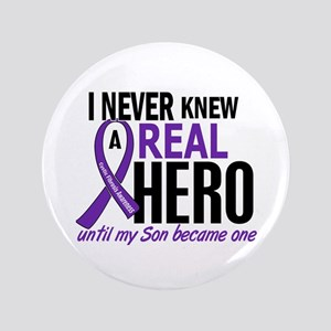 "Cystic Fibrosis Real Hero 2 3.5"" Button"