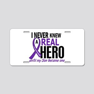 Cystic Fibrosis Real Hero 2 Aluminum License Plate