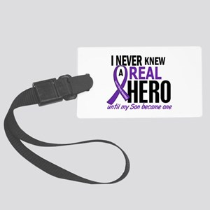 Cystic Fibrosis Real Hero 2 Large Luggage Tag