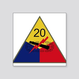 20th Armored Division Sticker