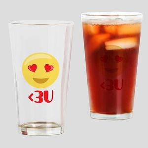 3U Drinking Glass