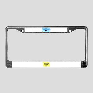 I LOVE THE SUNSHINE License Plate Frame