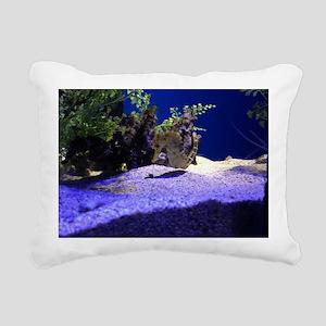 Seahorse Pair Rectangular Canvas Pillow