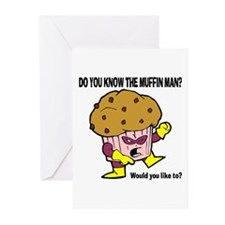 The Muffin Man Greeting Cards (Pk of 10)