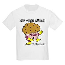 The Muffin Man Kids Light T-Shirt