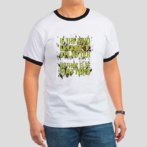 Mud Splatter Boggin Design T-Shirt